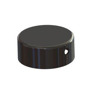Pivotal Edge Hinge Pin Cap Round