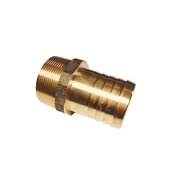 """Brass Hosetail Male BSP - 2"""""""