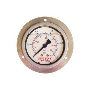 O.ME.P.S Gauge Pressure 2.5Bar Panel Mount